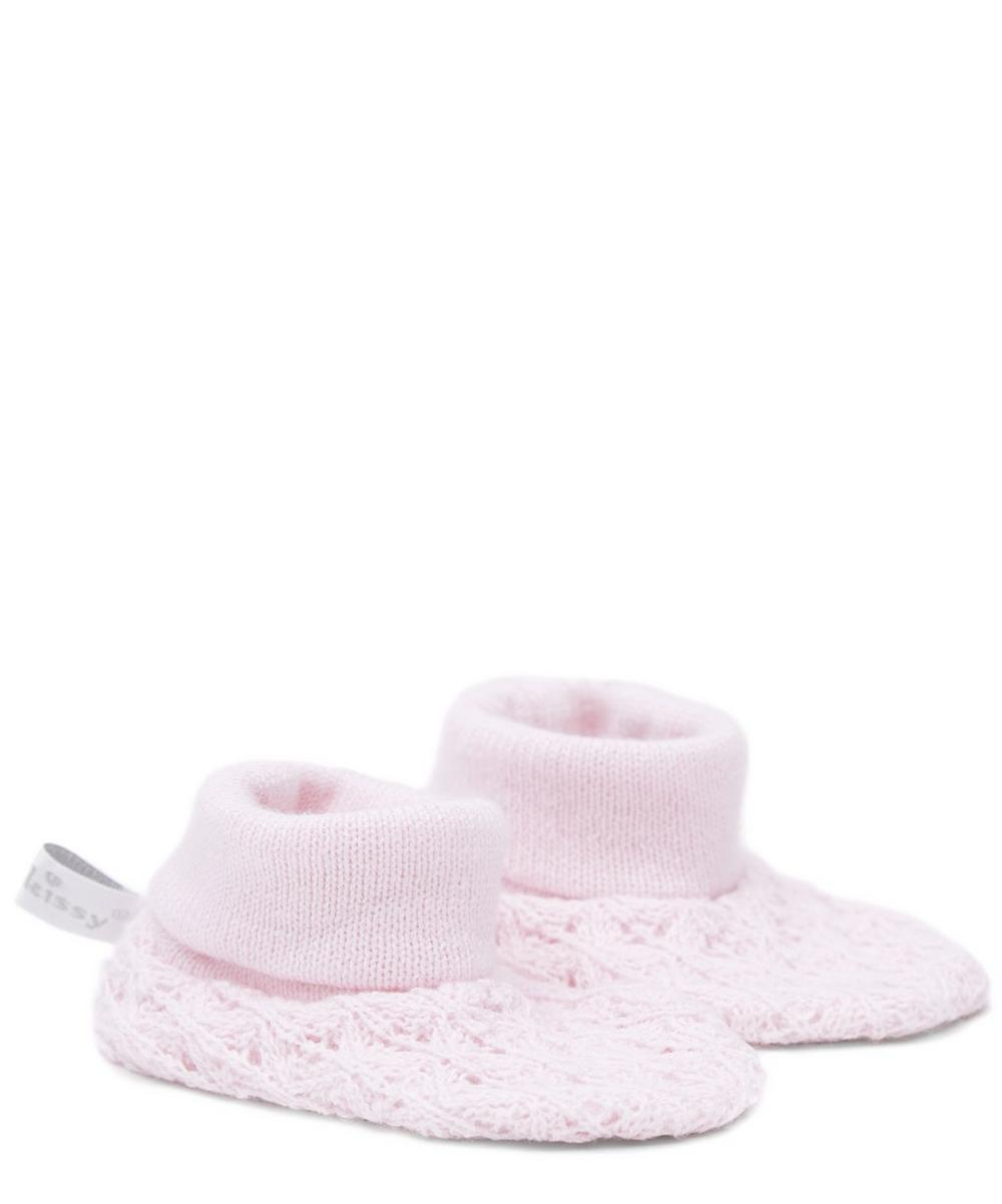 Tender Touches Knit Booties
