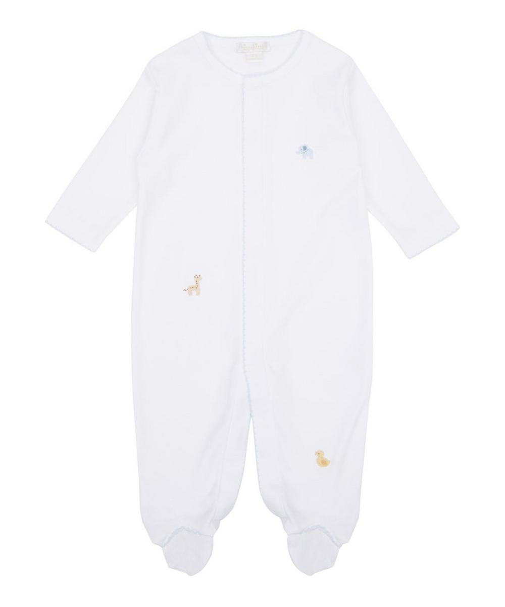 Scattered Petite Pals Footie 0-9 Months