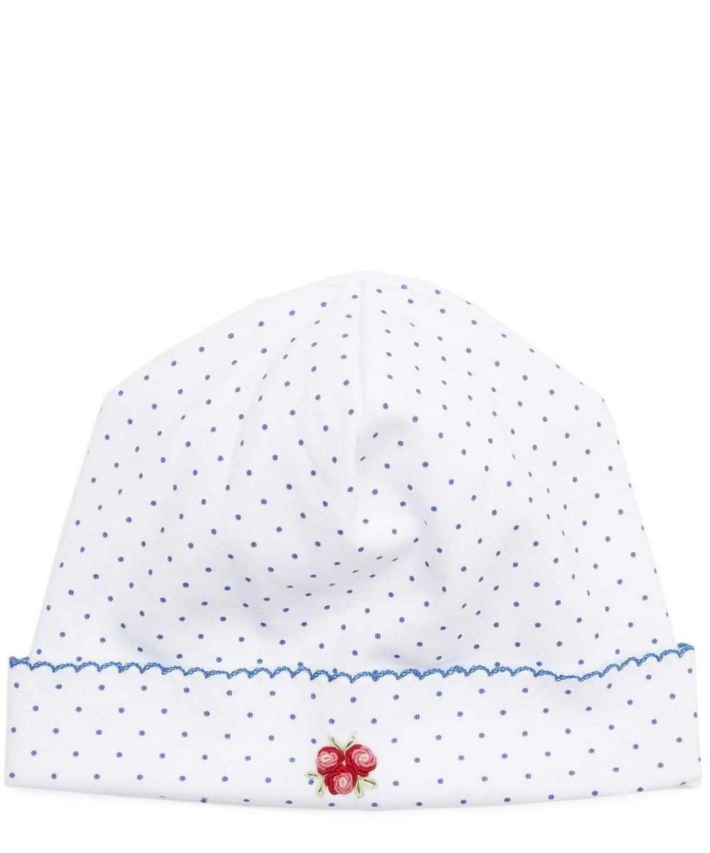 Red Roses Print Hat