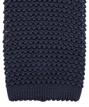 Plain Knit Silk Tie
