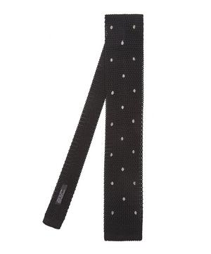 Knitted Spot Tie