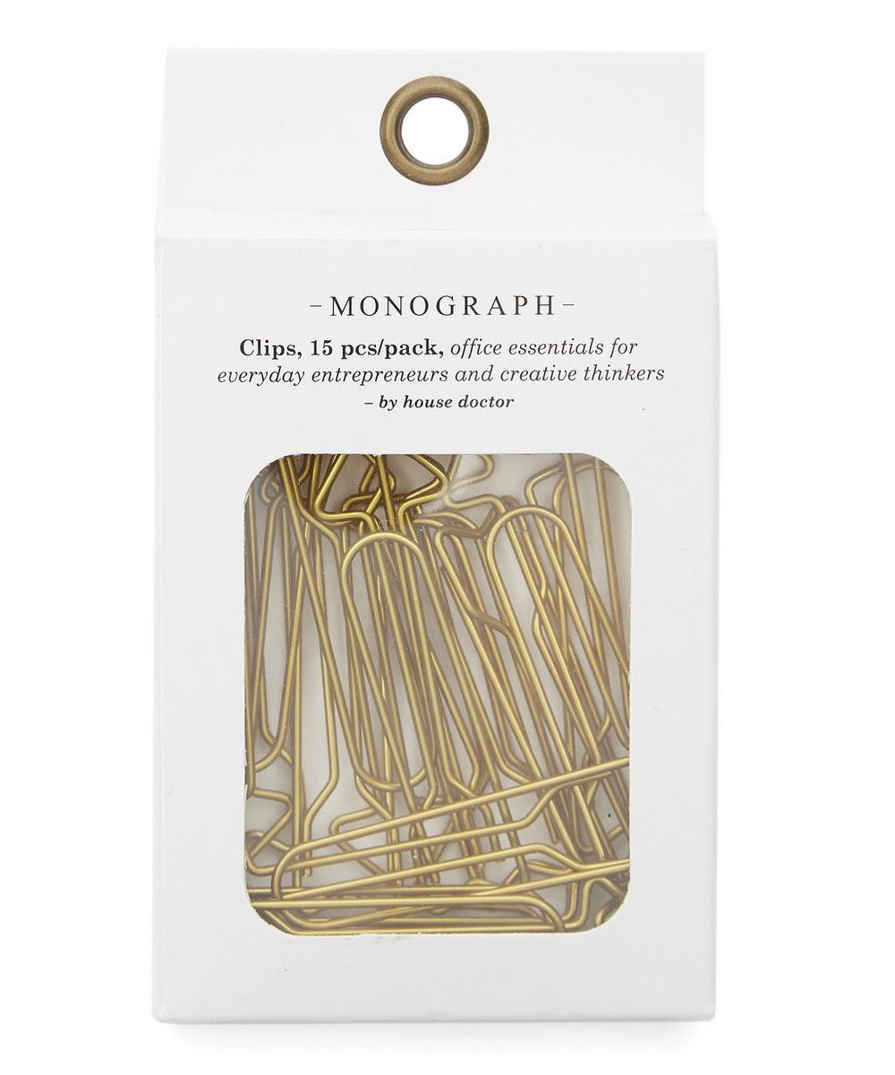 Monograph Arrow Paper Clips