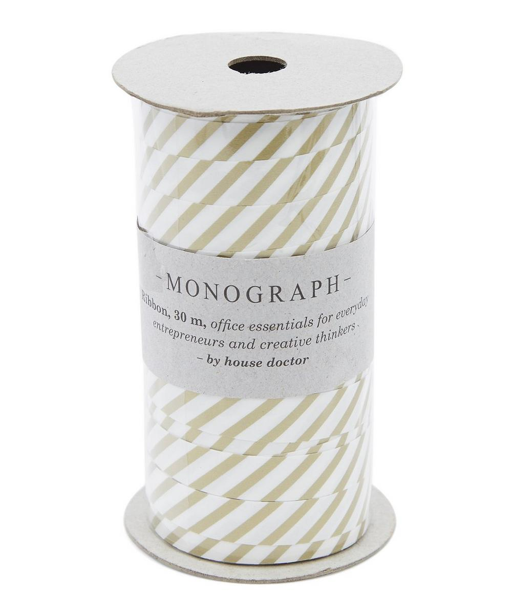 Monograph 30m Striped Ribbon