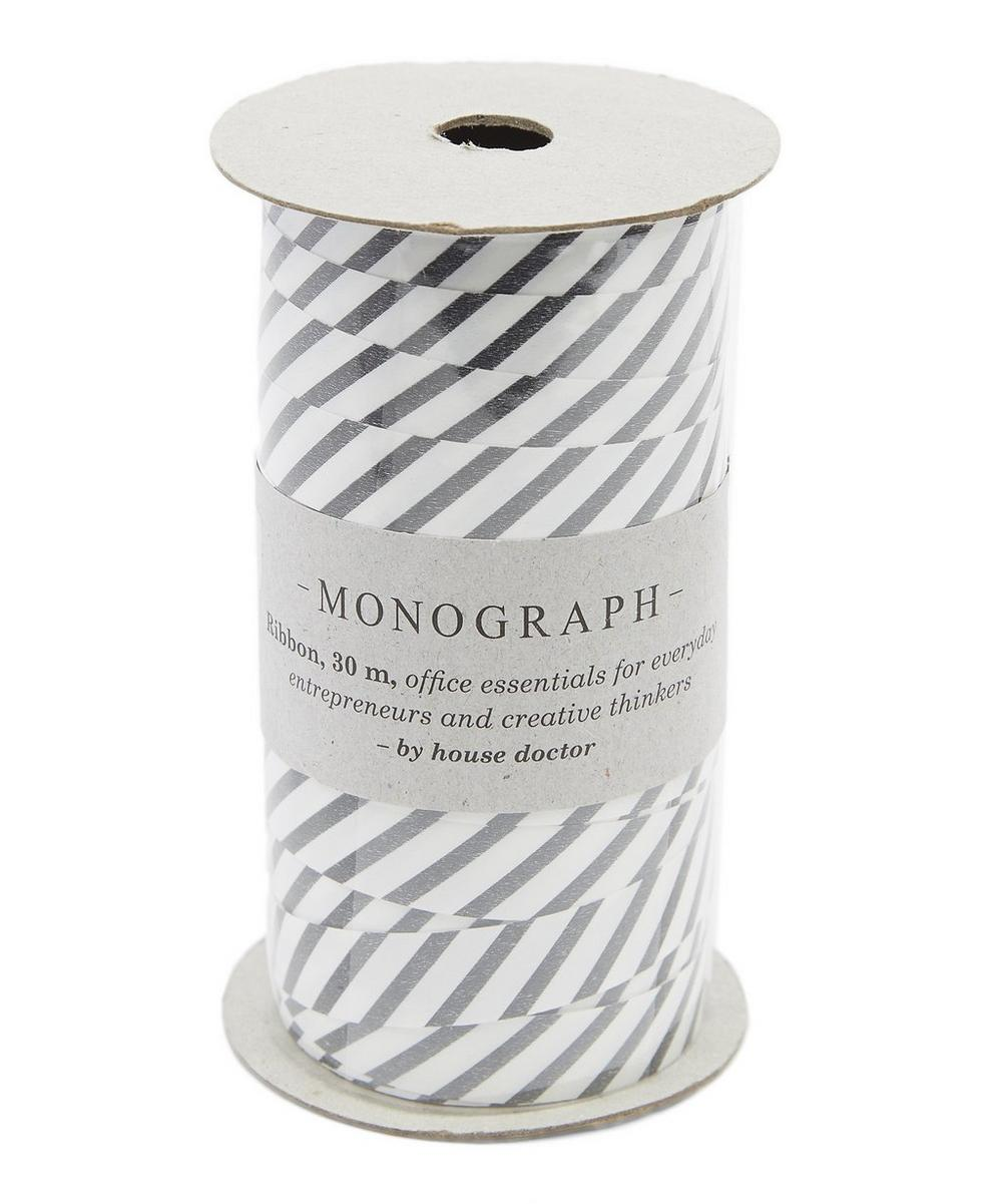 Monograph 30m Striped Ribbon