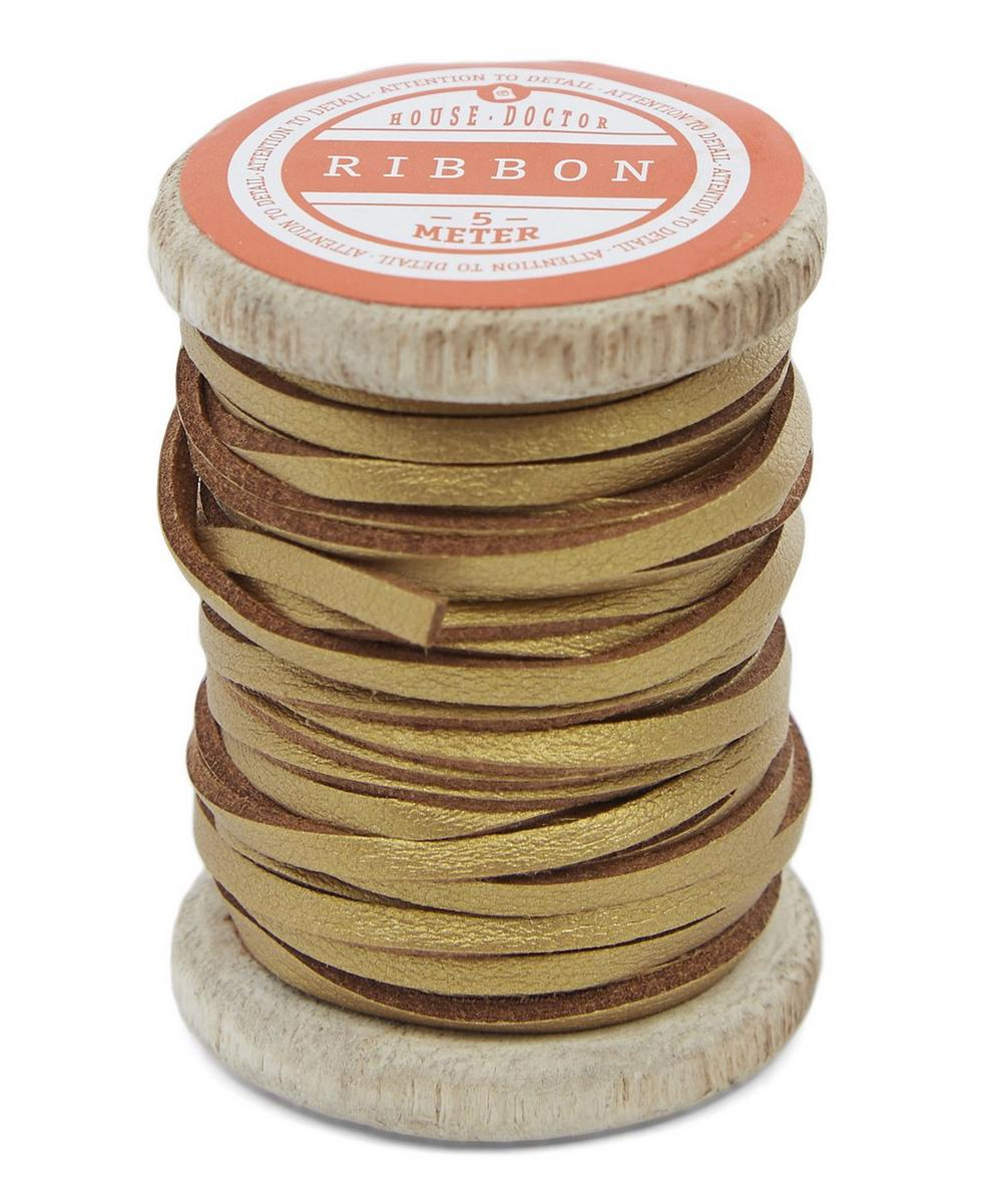 5m Leather String Spool