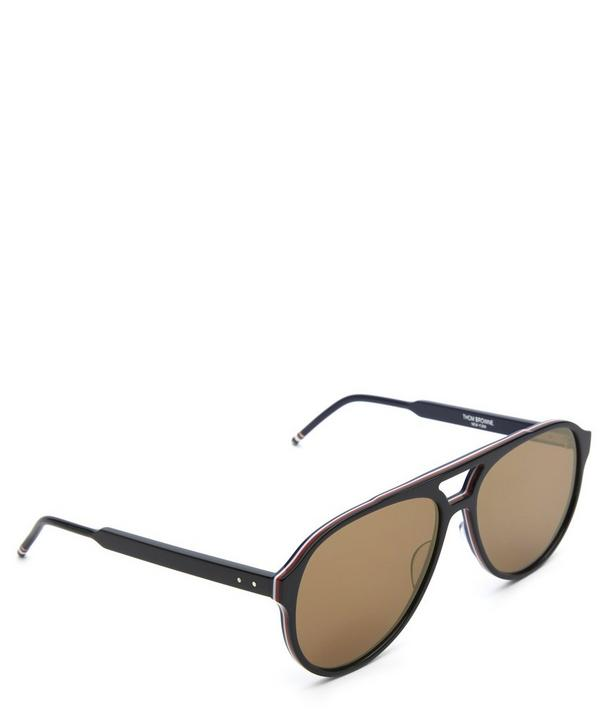Runway Oversized Aviator Sunglasses