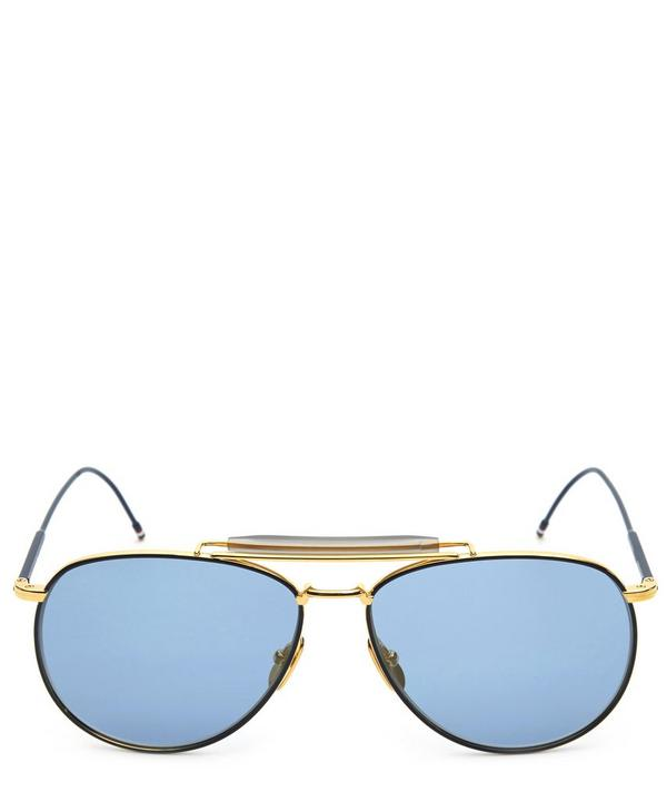 Flat Aviator Sunglasses