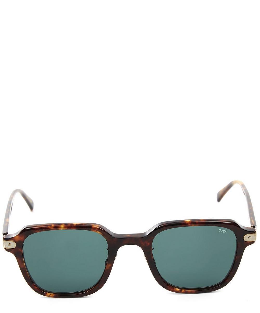 Eyevan Tortoise Square Sunglasses