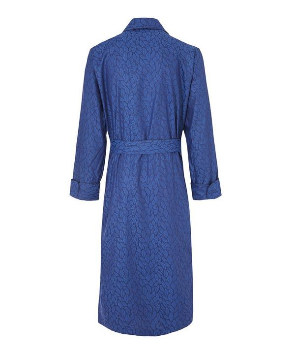 Pari Paris Leaf Print Robe