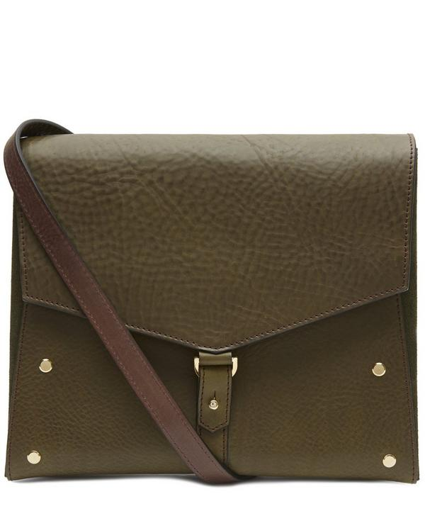 One Flap Leather Bag