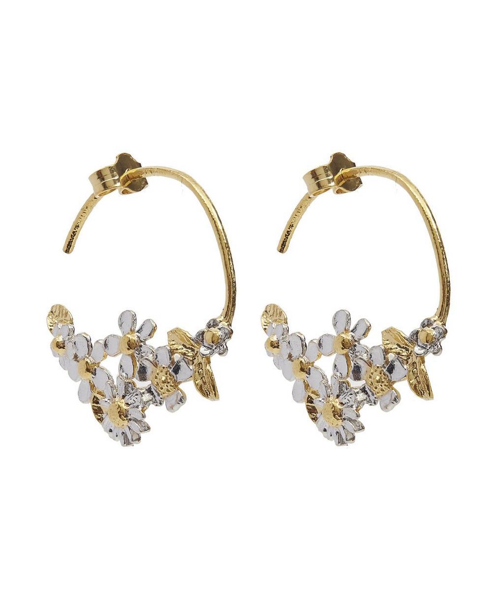 Posy Fine Hoop Earrings