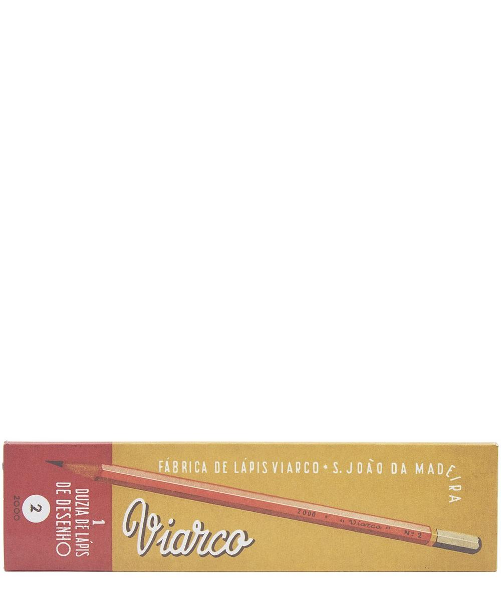 Gold-Toned Pack of 12 HB Pencils