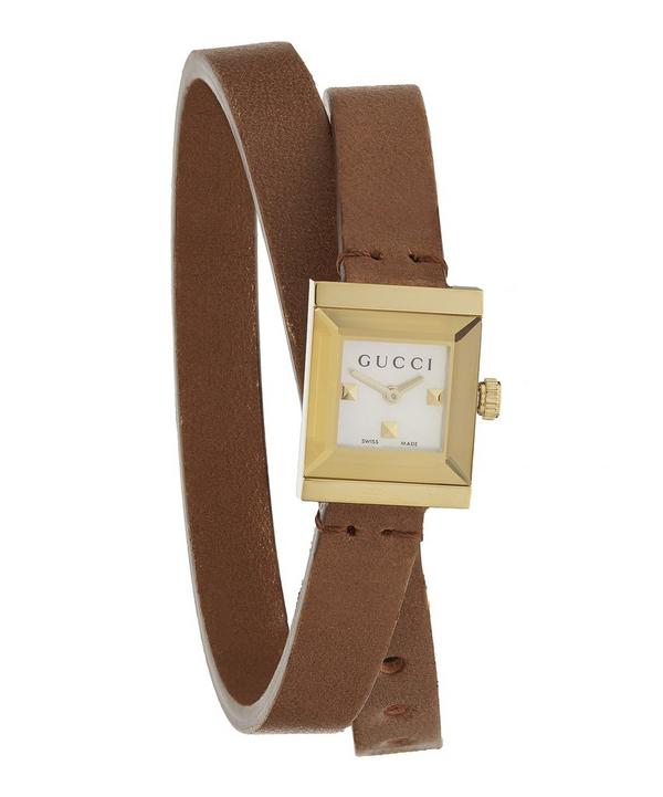 G-Frame Leather Watch