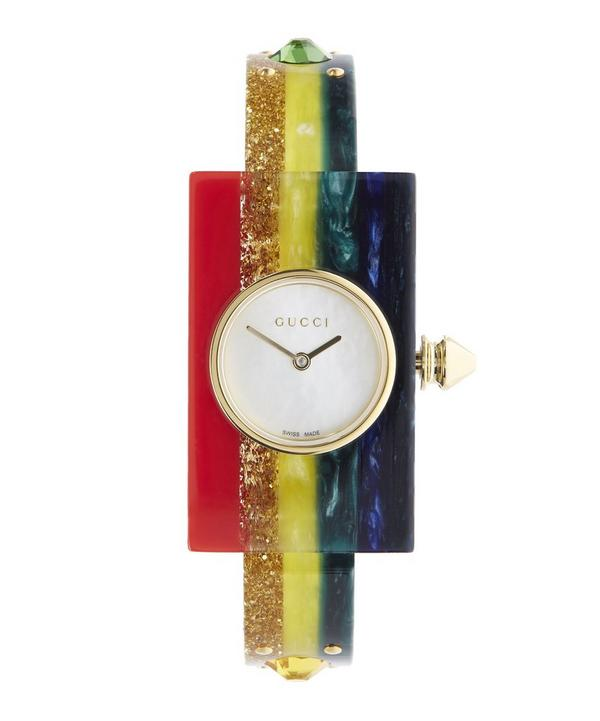 Rainbow Plexiglas Watch