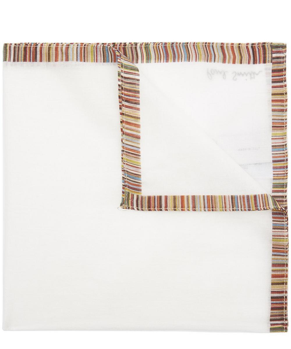 Multi Stripe Pocket Square