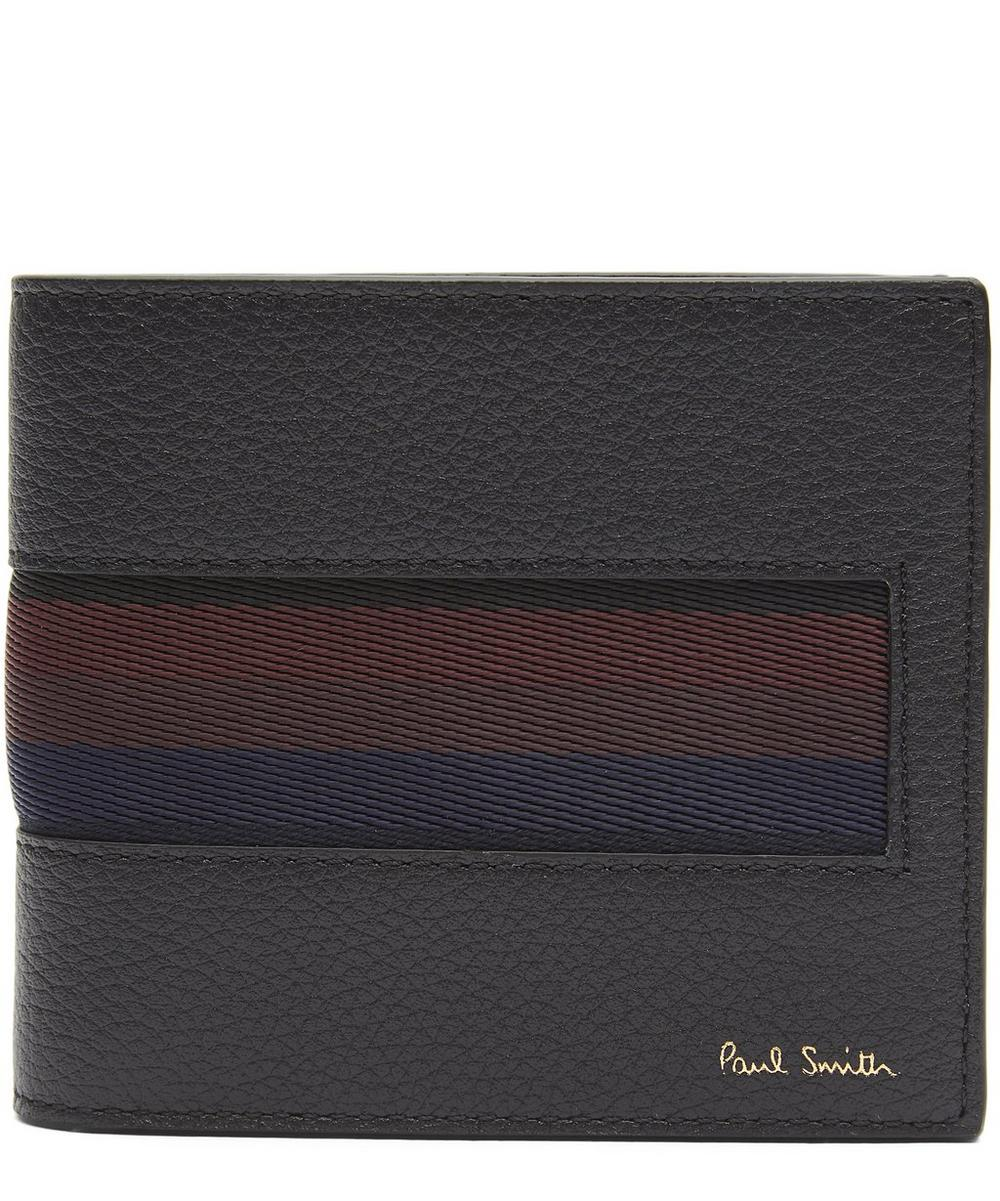 Stripe Webbing Billfold Wallet