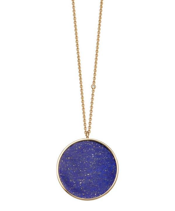 Lapis Neptune Pendant Necklace