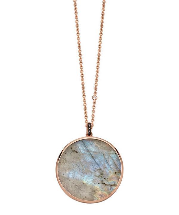 Labradorite Jupiter Pendant Necklace