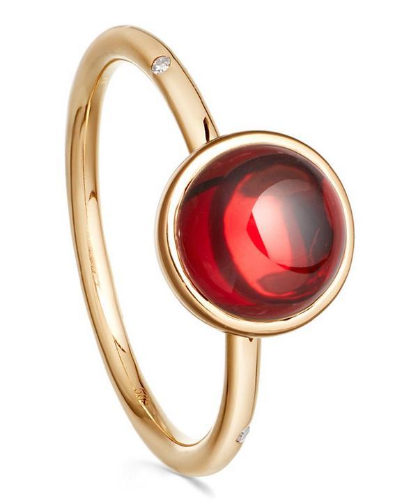 Garnet Mercury Ring