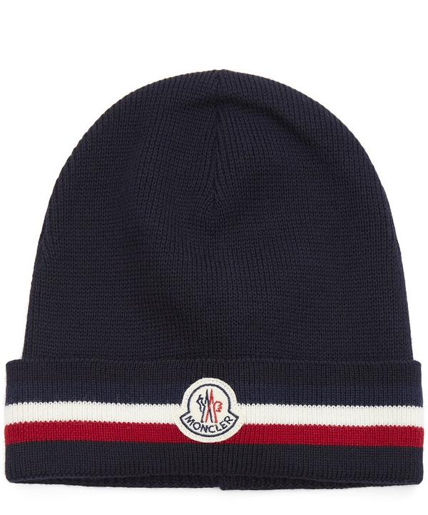 Striped Wool Beanie