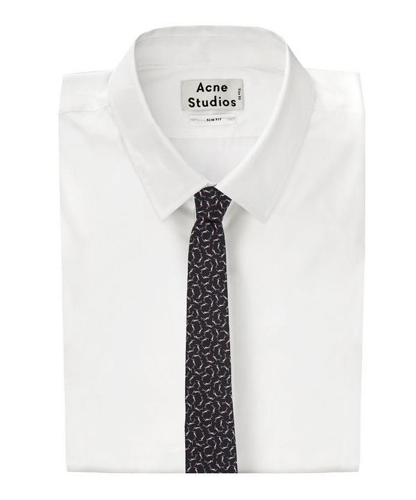 Bird Print Tie