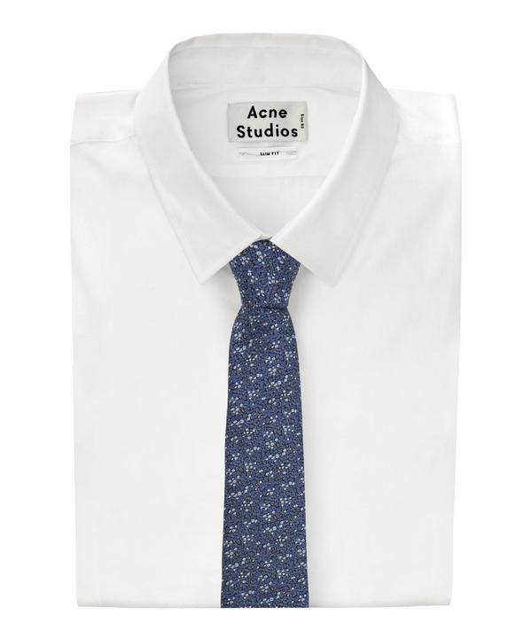 Textured Dot Jacquard Tie