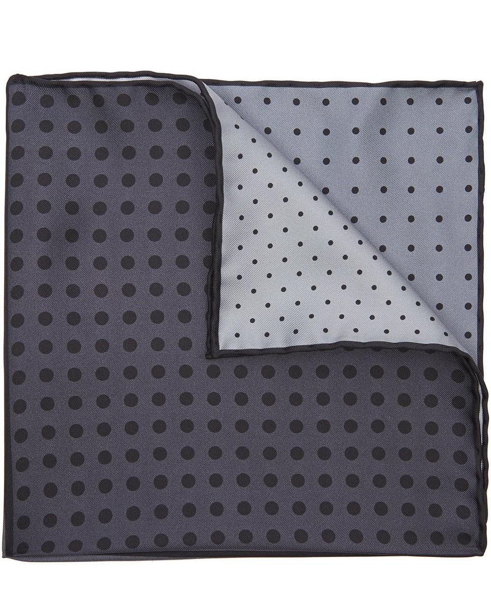 Four Colour Dot Pocket Square
