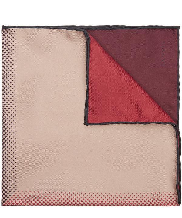 Four Colour Pocket Square