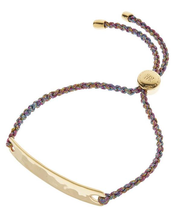 Gold-Plated Havana Metallica Cord Friendship Bracelet