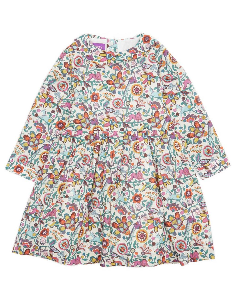 Mythical Forest Long Sleeve Dress 2-6 Years