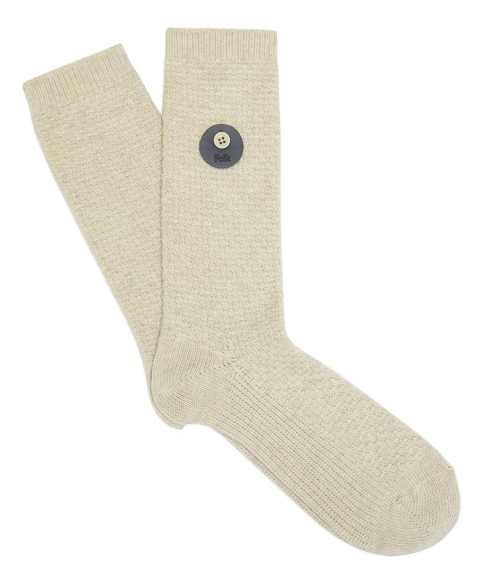 Waffle Knit Socks Size 40-46
