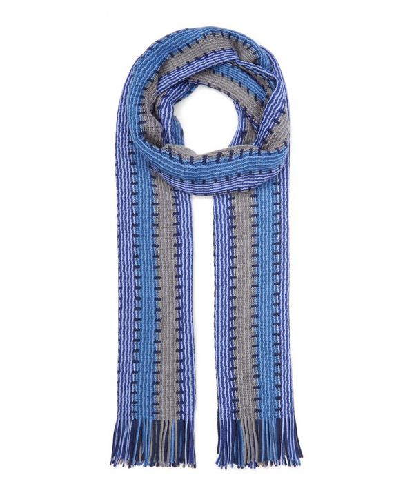 Block Vertical Stripe Scarf