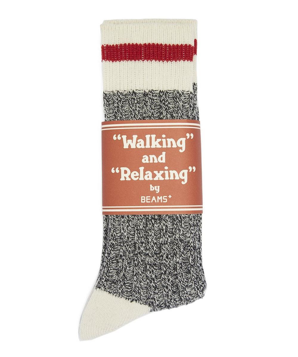 Schoolboy Striped Wool Socks