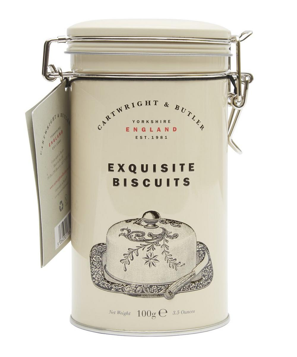 Cheese Biscuits in Tin 100g