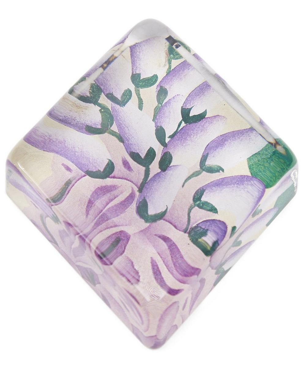 Wisteria Diamond Paperweight
