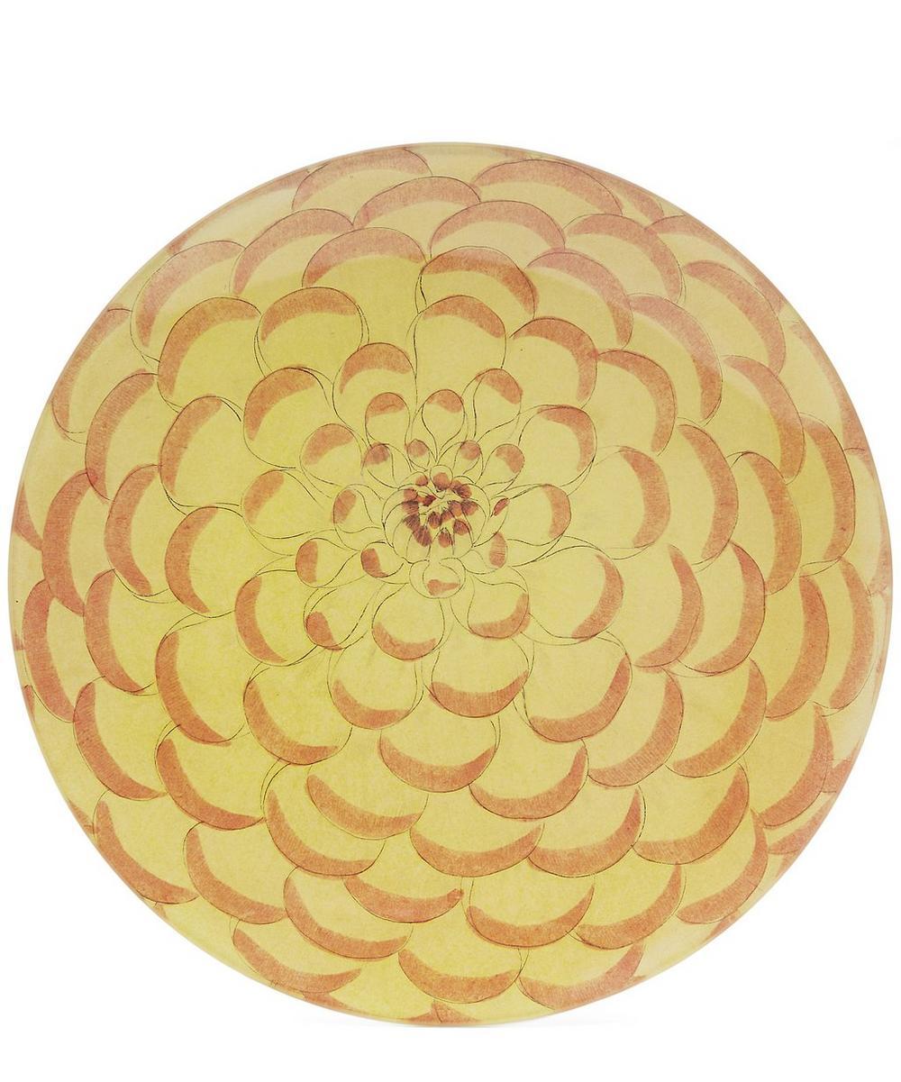 Melon Petal Round Plate
