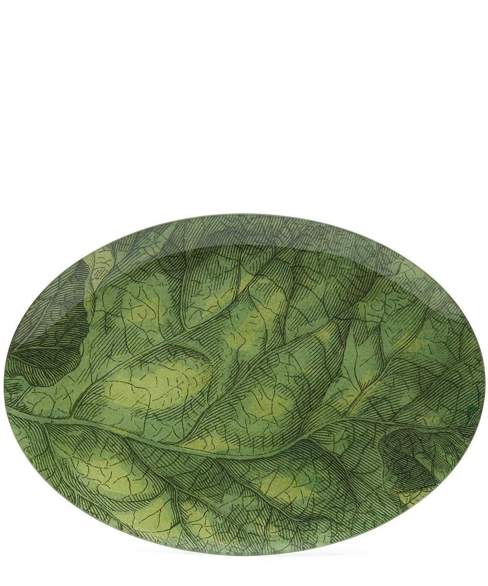 Leaf Oval Plate