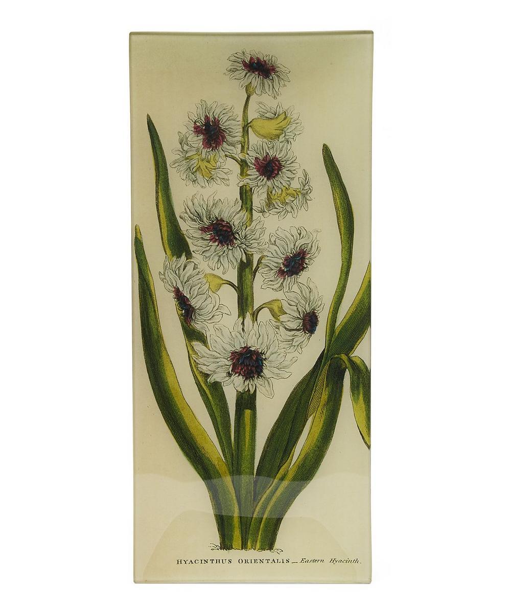 Eastern Hyacinth Long Rectangular Tray
