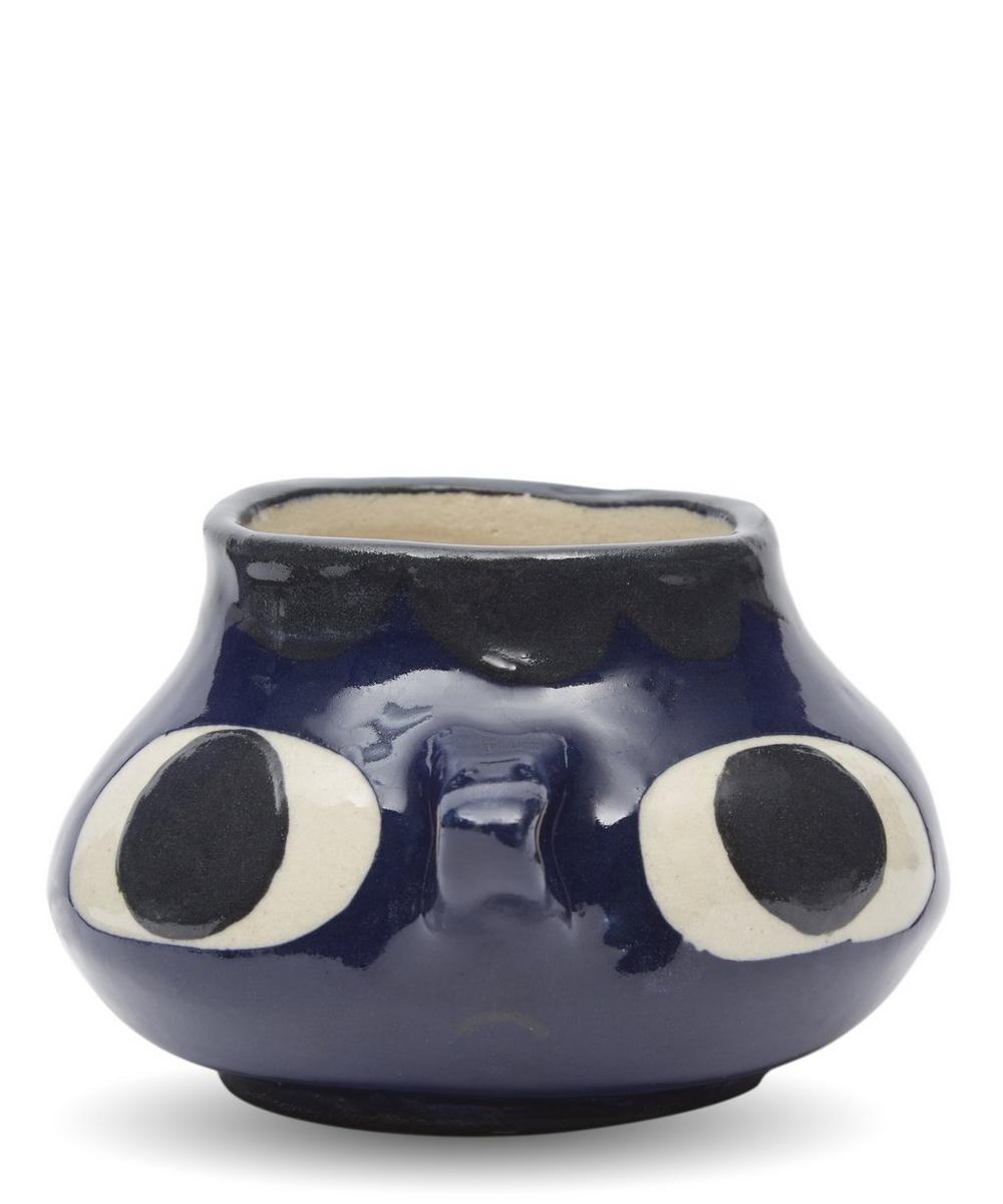 Mushroom Face Vase