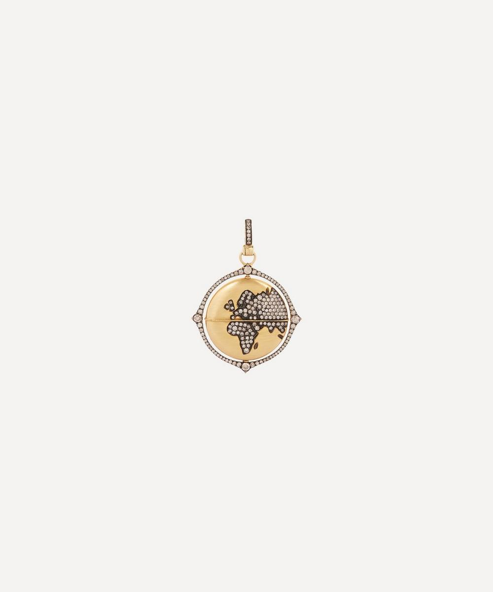 Gold Mythology Diamond Pendant