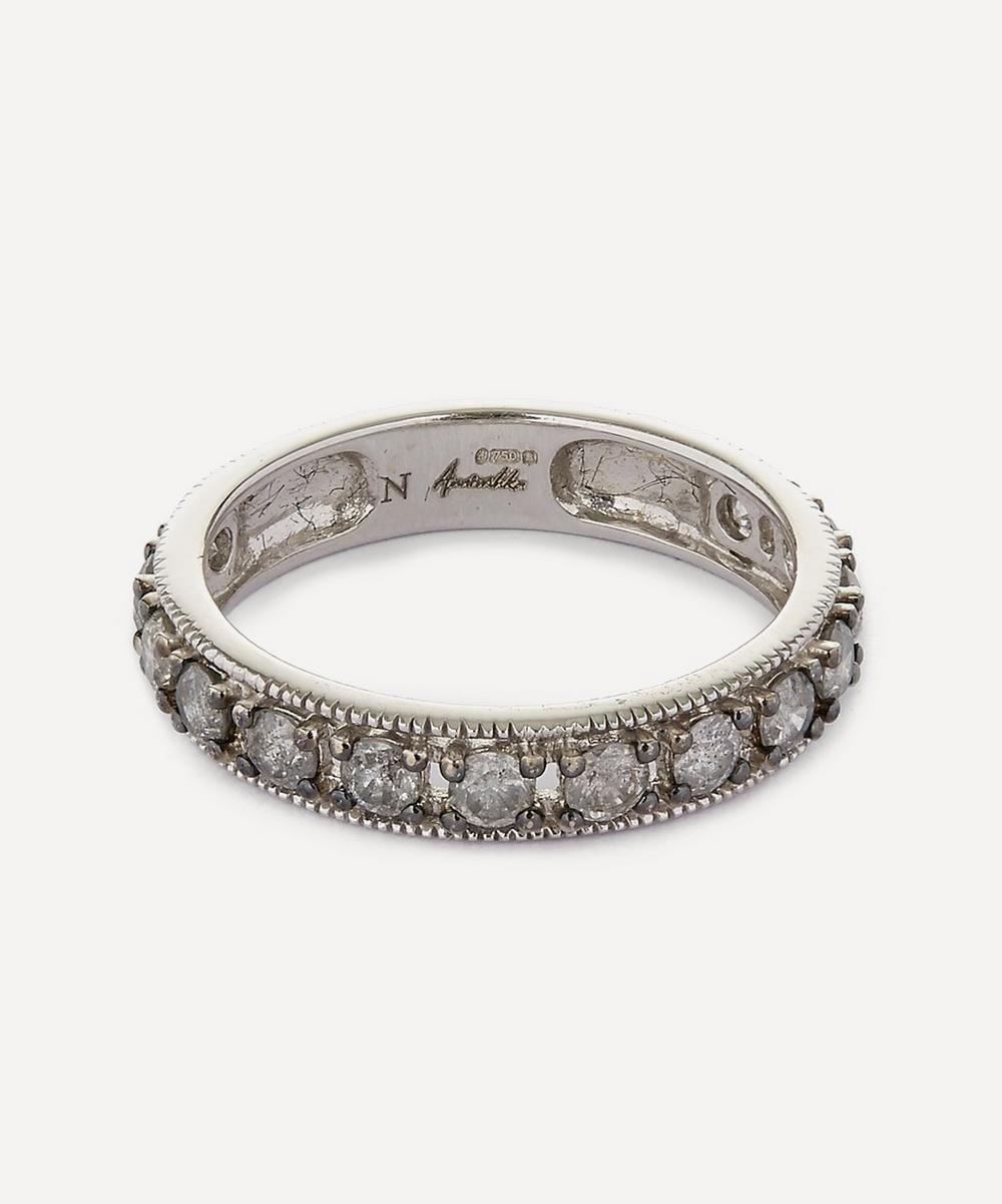 18ct White Gold Dusty Diamond Eternity Ring
