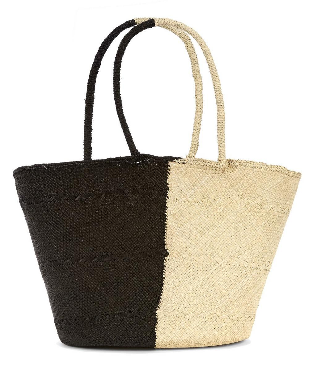 Small Genovesa Two-Tone Brisa Tote Bag