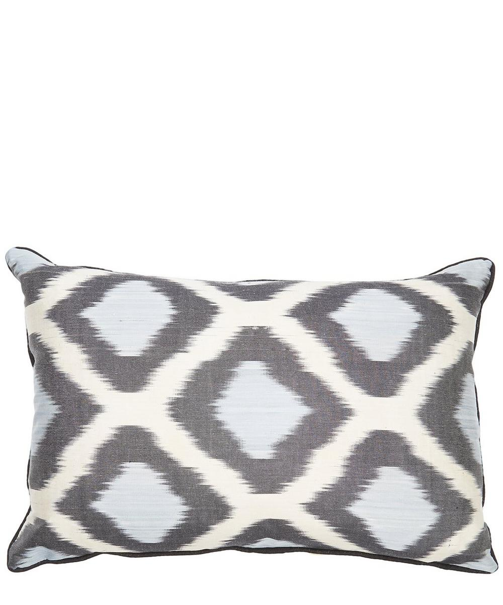 Greek Eye Ikat Cushion