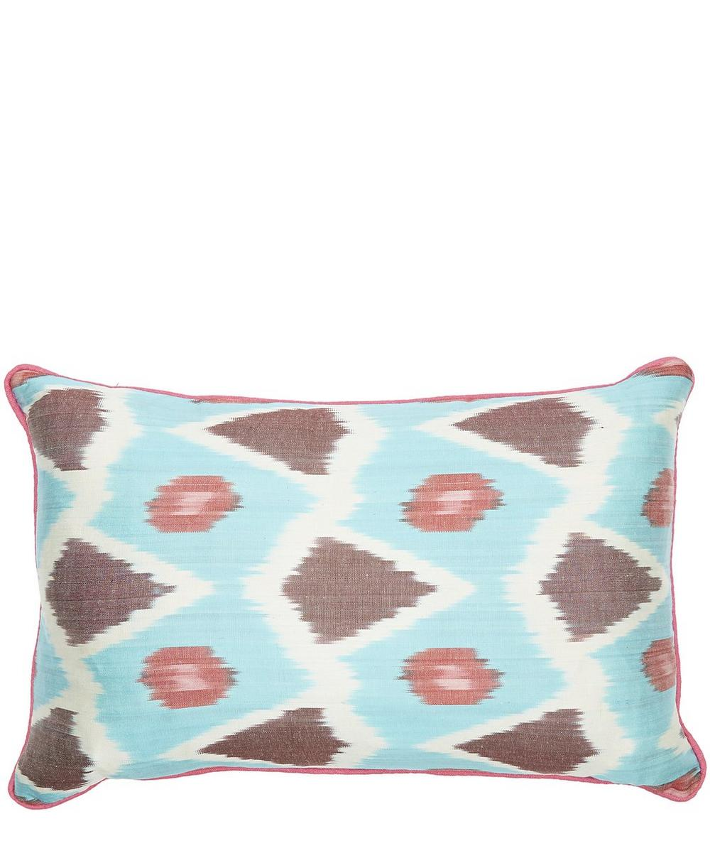Owl Ikat Cushion