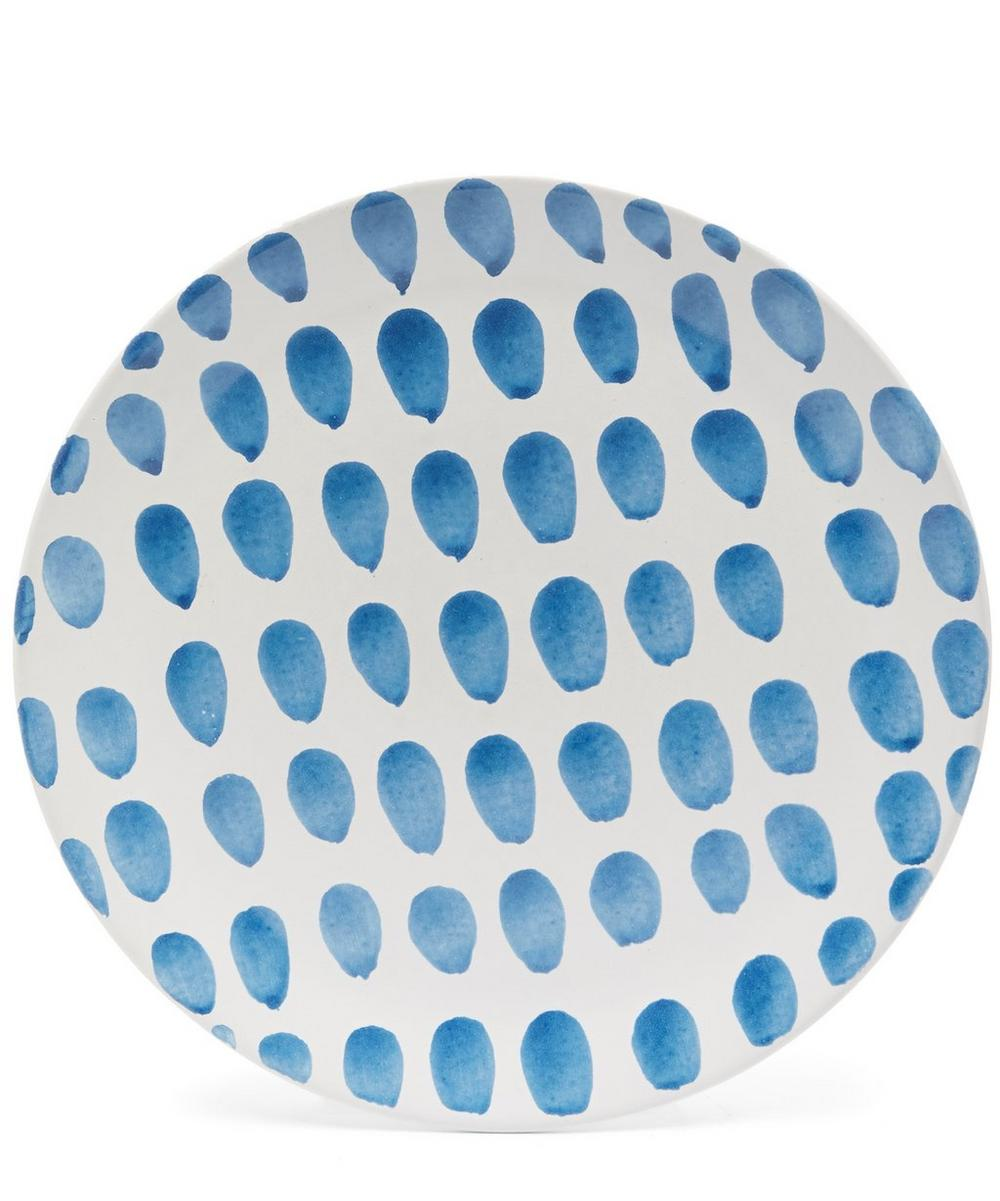 Large Dots Dinner Plate