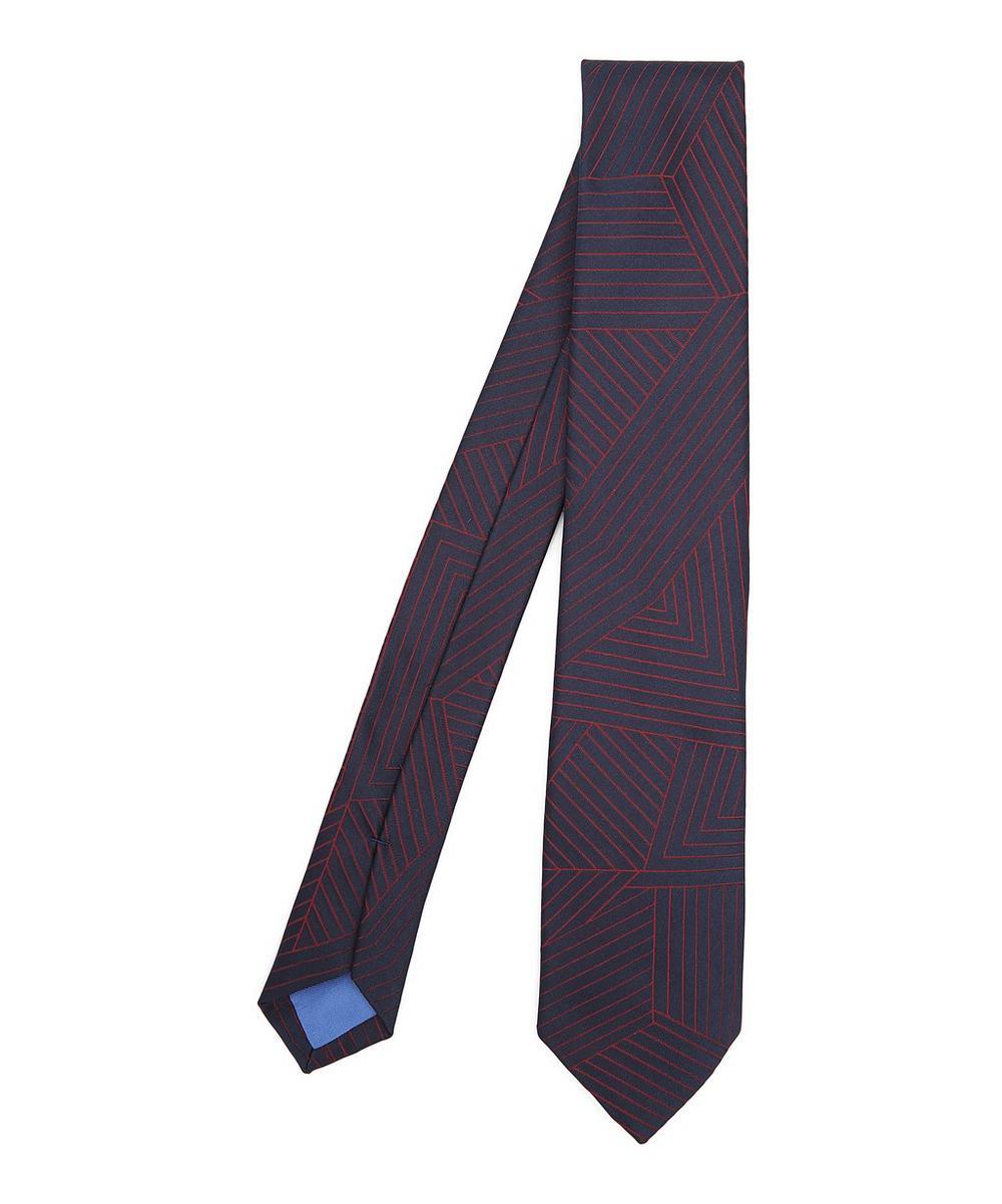 Network Silk Tie