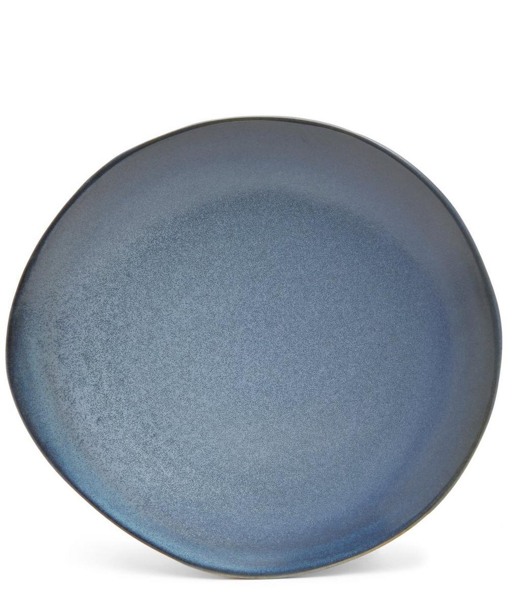 '70s Ceramic Dinner Plate