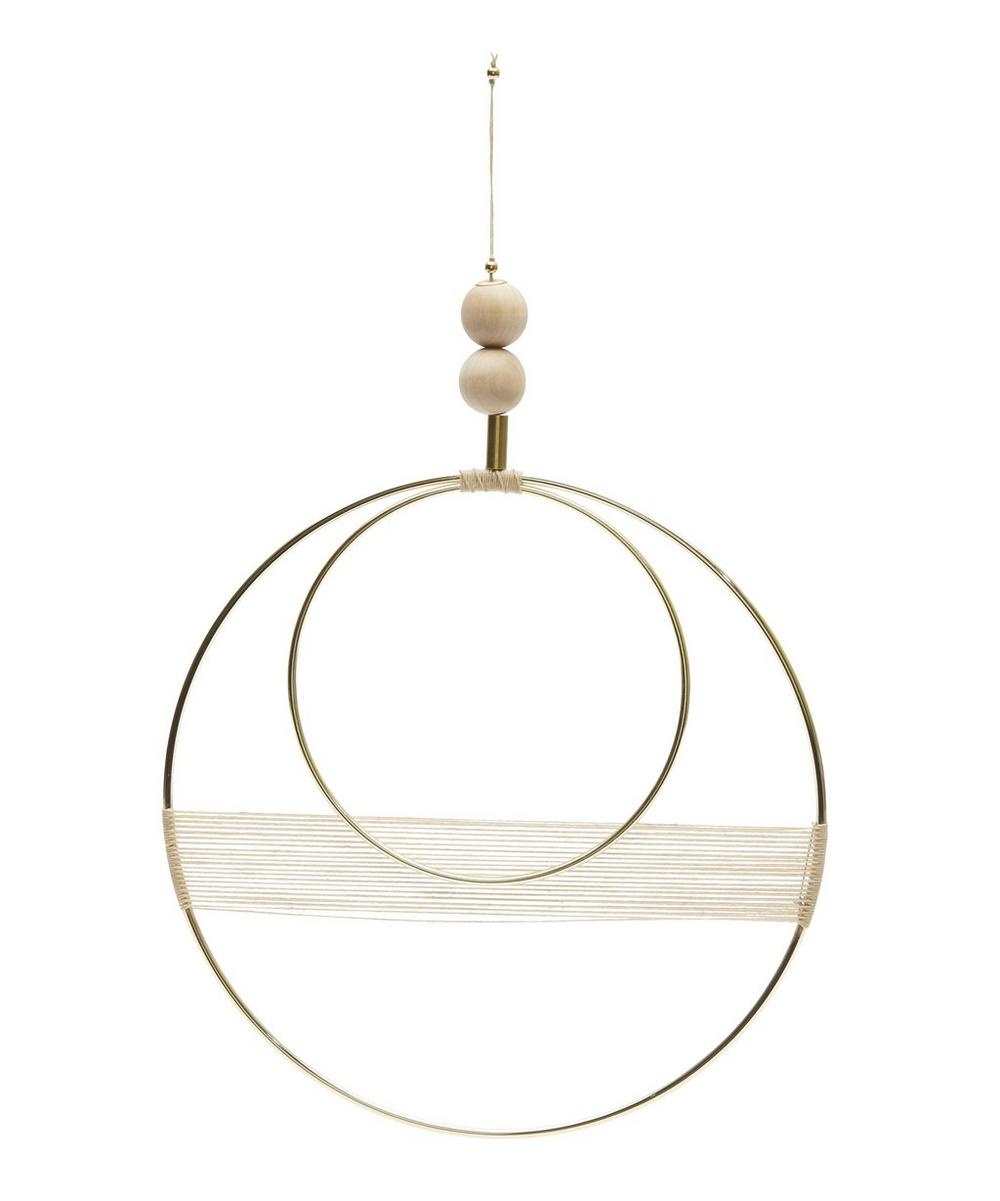 Double Circle Wall Hanging