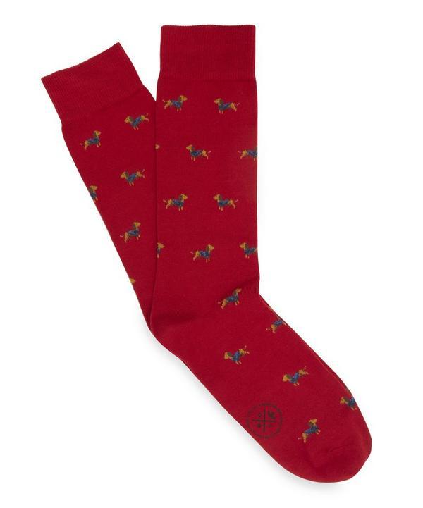 Sherlock Dog Socks