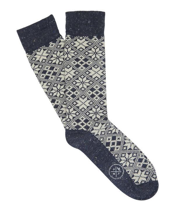 Aspen Fairisle Socks